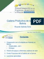 Cadena Productiva de La Quinua en Bolivia