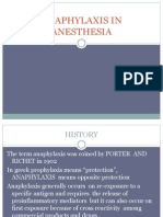 xis in Anesthesia