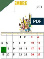 CALENDARI AULA 2011-2012