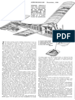 TOMBOY Full Construction and Trimming Articel Aeromodeller NOV 1950