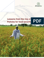 Lessons from the rice crisis
