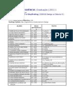 2011.1 - Textos para      Apresentação