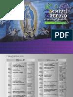 Programa Festival Barroco