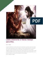 El Diablo Contra Dios.