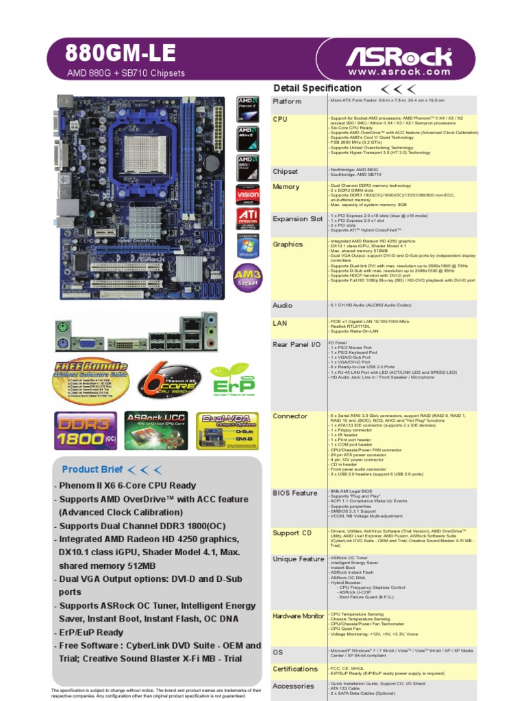 Driver UPDATE: Asrock 880GM Pro3 R2.0 AMD OverDrive