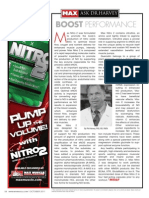 "[ASK DR. HARVEY]  ""Boost Performance with Nitro 2"""