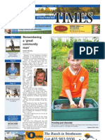 September 30, 2011 Strathmore Times