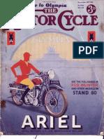 The Motorcycle-Nov 1935
