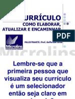 PALESTRA CURRÍCULO