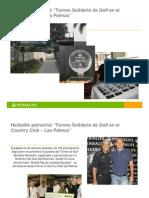 Nota de Prensa Torneo de Golf Solidario Herbalife Bolivia, Sept 2011