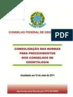 Resolução CFO 63-2005 fragmento