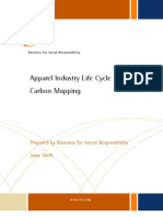 BSR Apparel Supply Chain Carbon Report