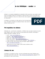 Manual traduzido do DVDStyler - versão 1.4