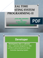 Real Time Operating System II