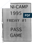 1995 Kansas City Chiefs Install