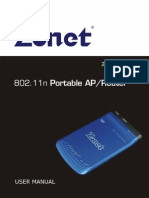 Zonet Setup Manual