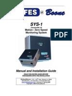 Manual de Sensor de Velocidad Rolfes