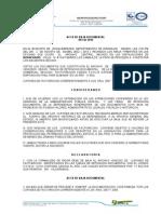 Acta de Baja Documental