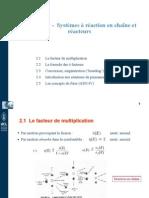 Chapitre 2 -Systèmes à réaction en chaîne et réacteurs