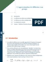 Chapitre 4 -L'approximation de diffusion à un groupe