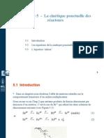 Chapitre 5 -La cinétique ponctuelle des réacteurs