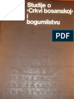 Jaroslav Sidak Studije o Crkvi Bosanskoj i Bogumilstvu