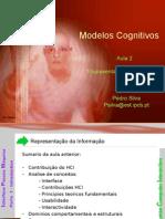 Aula 2 Modelos Cognitivos