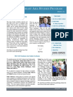 SAIS Southeast Asia Studies Newsletter-Spring 2011