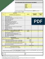 IT Declaration Form New 08-09
