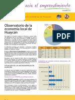 Observatorio de la economía local de Huaycán Dic 2010