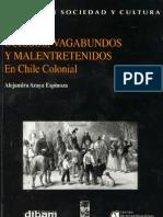 Ociosos dos y Mal Entretenidos en El Chile Colonial - Alejandra Araya E