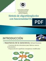 oligoetilenglicoles con funcionalidad biológica