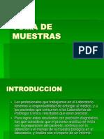 3° clase TOMA DE MUESTRAS PRESENTACION