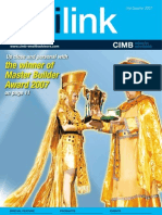 CIMB Unilink Newsletter 3rd 2007