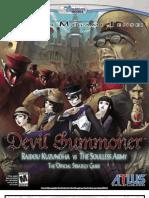Shin Megami Tensei Devil Summoner Official Guide
