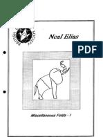 Neal Elias - Miscellaneous Folds 1