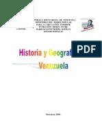 Historia y Geografia Venezuela