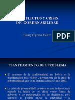 Articulo Oporto Conflictos Y Crisis de Gobernabilidad