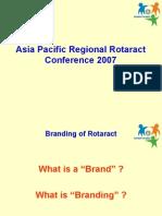 Rotaract Branding