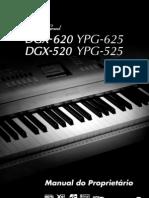 Manual Do Piano DGX 520