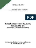 Marco Macroeconómico Multianual 2012-14 Revisado