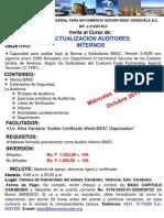 Invitacion Curso Aaib (19 y 20 de Octubre de 2011)