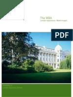 Mba Brochure 20062007