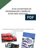 EJECUCION DE LOS METODOS DE PROGRAMACION Y DISEÑO