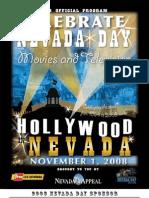 Nevada Day 2008 Official Program