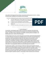 WACDA statement