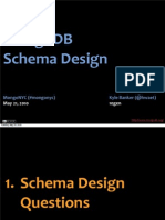 MongoDB Schema Design (Kyle Banker 10Gen)