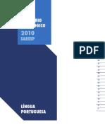 relatório SARESP_Lingua Portuguesa_2010