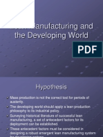 Lean Manufacturing in Developing Nations 6
