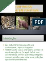 Animais em vias de extinção em Portugal